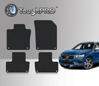 ToughPRO Floor Mats Black For Volvo XC60 All Weather Custom Fit 2018-2021
