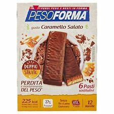 Pesoforma Barrette Gusto Caramello Salato - Pasti Sostitutivi Dimagranti Solo 22