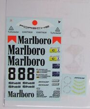 1/24 Porsche 956 Mar1boro 1983 Le Mans Decal for Tamiya