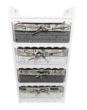 WHITE 4 commode tiroir tiroirs Salon Couloir chambre unité de stockage armoire