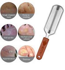 Tooerlen Foot Rasp Foot File Grater Both Wet Dry Best Care Pedicure Metal