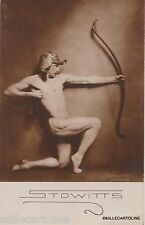 Stowitts photographed by Nickolas Muray 1920 Male nude photo postcard