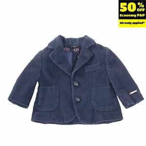 HITCH-HIKER By MONNALISA Corduroy Blazer Jacket Size 3M / 54CM Made in Italy