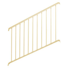 Superior Aluminum Rail Kit - Series 600 - 36in. H - 6ft. L - Stair - Almond