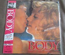 Versiegelt Madonna Körper Japan Laser Disc Ld W / Obi Bell-589 S&H / Versand mit