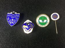 Australian LAWN BOWLING Bowls Bocce Club AWESOME Lot of 4 Lapel Hat Pins Badges!