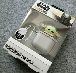 NIB The Mandalorian AIRPODS CASE The Child STARWARS 1st & 2nd Gen Compatible