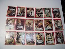 Lot of 20 Topps Chewing Gum 1976 Welcome Back Kotter Trading Cards