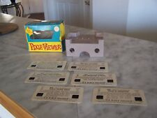 Vintage PIXIE Viewer 6 Color Slides