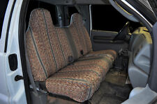 1995 2007 Ford F 150 250 350 Bench CUSTOM FIT GREY SADDLEBLANKET SEAT COVERS Fits More Than One Vehicle
