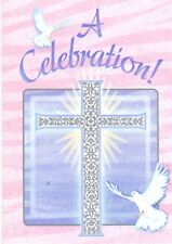 Special Blessings Pink Religious Christian Party Invitations 8 - A Celebration