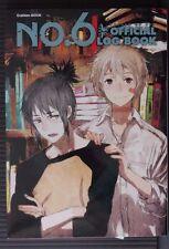 JAPAN No. 6 Number six Official Log Book nine-volume novel series