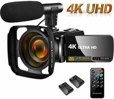 4K Camcorder Video Camera,Vlogging Camera for YouTube 30MP Camcorder 3.0 Inch...