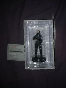MARVEL MOVIE COLLECTION ISSUE 10 WINTER SOLDIER  EAGLEMOSS FIGURINE FIGURE