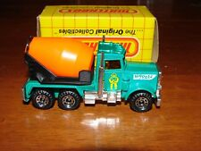 "1981 LESNEY MATCHBOX ""Big Pete"" PETERBILT CEMENT TRUCK No. 19 ~ Sealed on Card"