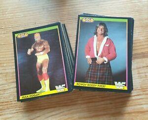 WWF Wrestling Trading Cards - Gold Series - Merlin - UK - 1992 - Various