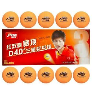 3 stars DHS D40+ Olympic Table Tennis white Ping Pong Balls Official UK Seller