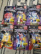 G1 Transformers mini blind bag complete set of 6 HTF