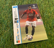 Panini Champions League 2007/2008 Trading Cards - Nani Manchester United