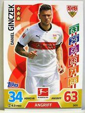Match Attax 2017/18 Bundesliga - #305 Daniel Ginczek - VfB Stuttgart