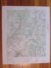 Summerville South Carolina 1944 Original Vintage USGS Topo Map