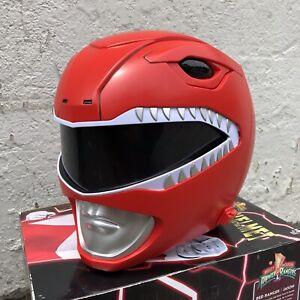 Bandai Power Rangers Legacy Edition Mighty Morphin Red Ranger Helmet 1:1