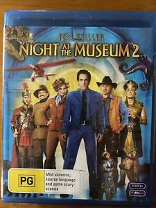 Night at the Museum 2 Blu-Ray. Free Postage. Copy protected.