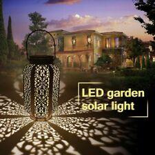 Waterproof Solar Lights Hanging Garden Decoration Lamp Yard Patio Pathway Ground