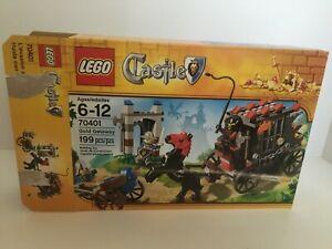 LEGO Castle Gold Getaway (70401). Complete Set. Used.