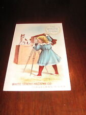 Victorian Sewing Machine Trade Cards