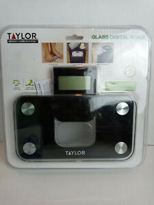 Taylor Glass Digital Scale Mini Scale with Expandable Readout