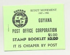 Guyana 1982 Scout Movement 1v Unexploded Booklet