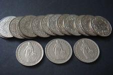 Schweizer Franken / 16 x 1 sfr. v. 1968 bis 1982