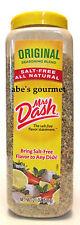 Mrs Dash Original Salt Free Seasoning Bulk 21 Oz Size (595 grams) 1 Bottle