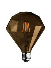 Lampada Lampadina Diamante Edison Filamento Oro 4W Luce Calda Diamante Edison Le