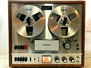 TEAC A-1500W AUTO-REVERSE STEREO TAPE DECK REEL-TO-REEL - EXCELLENT- SEE VIDEO