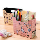 Board Storage Box MakeUp Cosmetic DIY Paper Desk Decor Organizer Stationery GT