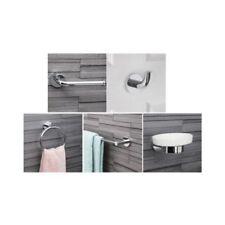 Chrome Round Bath Accessory Sets