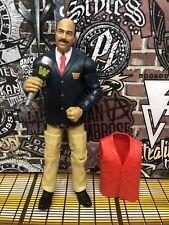 WWE Mattel Elite Legends Flashback Mean Gene Walmart Exclusive Loose