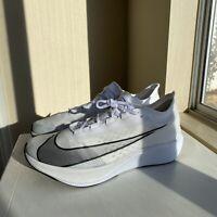 Nike Zoom Fly 3 White Black AT8240-100 Men's Size 11.5
