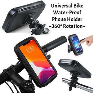 360° Waterproof Bicycle Bike Mobile Phone Case Holder Bracket Mount For Phone M