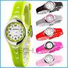 Kleine analoge XONIX Armbanduhr für Damen/Mädchen wasserfest bis 100m nickelfrei
