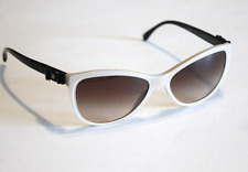 Chanel 5281 Beige Black Patent Bow Sunglasses Size 58mm