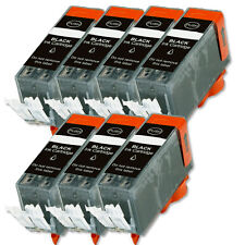 7 BLACK Ink Cartridge for Canon Printer PGI-220BK MP640 MX860 MX870 MP560 iP4700