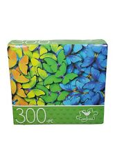 300 Piece Jigsaw Puzzle Pattern of Butterflies -Cardinal New & Factory Sealed!!