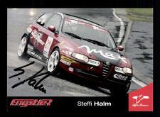 Steffie Halm Autogrammkarte Original Signiert Tourenwagen + A 127842