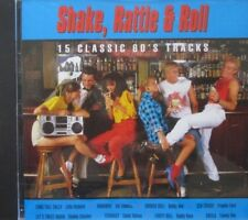 SHAKE, RATTLE & ROLL - 15 CLASSIC 60'S TRACKS - CD