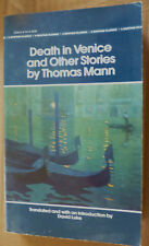 Thomas Mann: Death In Venice And Other Siories