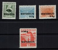 P126383/ AUSTRIA – MI # 563 / 566 COMPLETE MINT MH – CV 105 $
