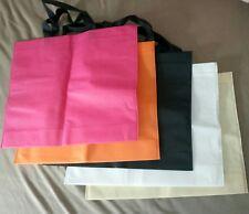 LOT 5 Sac de shopping courses plage.. tissu, pliable, léger, 40 x 33cm - NEUF !